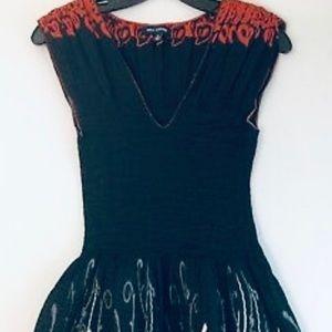 Max Edition • Black Fit n Flare Dress (Size L)